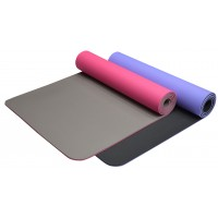 Bodyworx 4ASL881PPL TPE Two-Tone Purple Yoga Mat