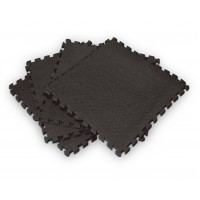 Bodyworx 4ASA524 Interlock Floor Black Mat