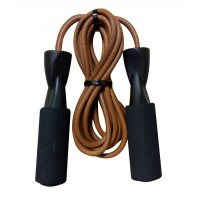 GoFit GF-LR 9' Leather Jump Rope