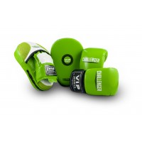 VIPCOMBOMGB Mitt & Pad Combo (Green/White - Medium)