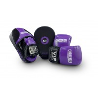 VIPCOMBOLPB Mitt & Pad Combo (Purple/Black - Large)