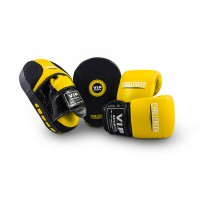 VIPCOMBOLYB Mitt & Pad Combo (Yellow/Black - Large)
