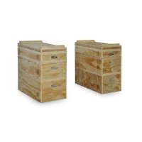 Bodyworx CF250 Wooden Jerk Blocks (Pair)