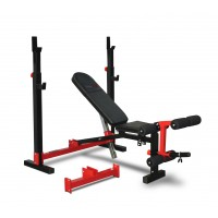 Bodyworx C520OSB Leverage Range Foldable Olympic - Standard Combo Weight Bench