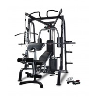 Bodyworx LX9010SM Deluxe Smith Cage Combo with FID Bench