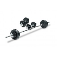Bodyworx 7S2950B Dumbbell Kit in Plastic Case (50KG)