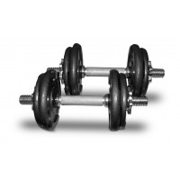 Bodyworx 7SET20BW Dumbbell Kit in Colour Carton (20KG)